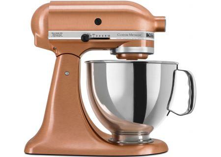 KitchenAid Custom Metallic Series Stand Mixer In Satin Copper - KSM152PSCP