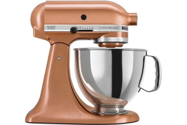 KitchenAid Custom Metallic Series Stand Mixer In Satin Copper - KSM152PSCP