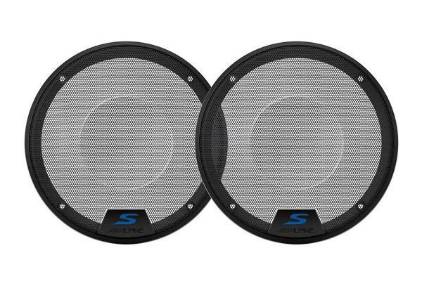 "Alpine 6.5"" S-Series Speaker Grilles - KTE-S65G"