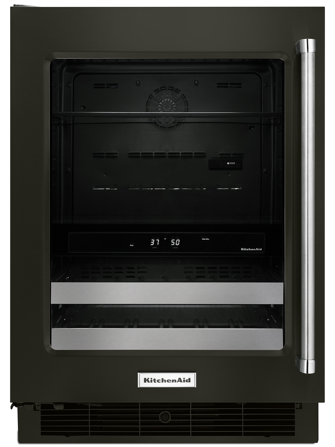 Kitchenaid Black Stainless Beverage Center Kubl304ebs