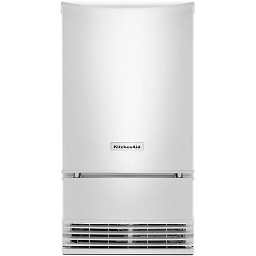 Kitchenaid 18 White Automatic Ice Maker