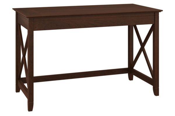 "Bush Furniture Key West 48"" Bing Cherry Writing Desk - KWD148BC-03"