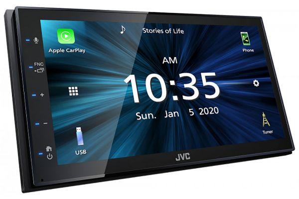 "Large image of JVC 6.8"" 2-Din AV Digital Media Receiver - KW-M560BT"