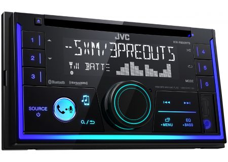 JVC Double DIN Bluetooth Car Stereo - KW-R930BTS