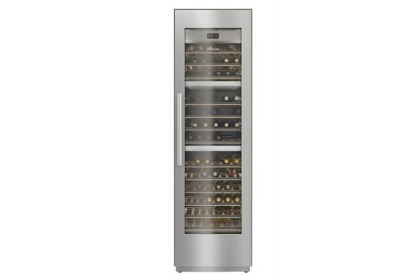 """Large image of Miele MasterCool 24"""" Stainless Frame Built-In Wine Storage Unit - 10746020"""