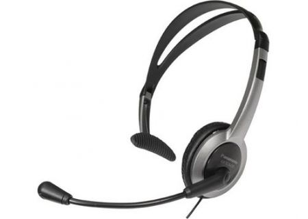 Panasonic Hands-Free Black And Silver Headset - KX-TCA430