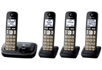 Panasonic - KX-TGD224M - Cordless Phones