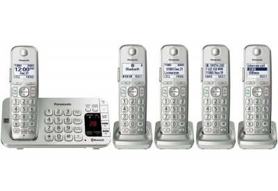 Panasonic - KX-TGE475S - Cordless Phones