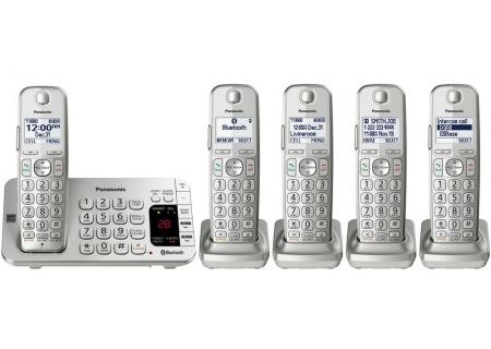 Panasonic - KX-TGE475S - Cordless Phones
