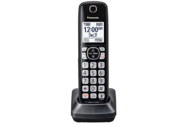 Large image of Panasonic Black Accessory Handset - KX-TGFA51B