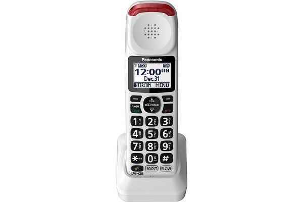 Large image of Panasonic DECT 6.0 Plus White Additional Digital Cordless Handset - KX-TGMA44W