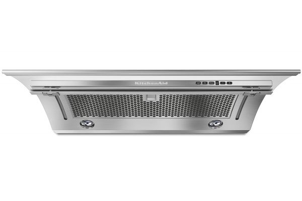 """Large image of KitchenAid 30"""" Stainless Steel Slide-Out Hood - KXU2830JSS"""