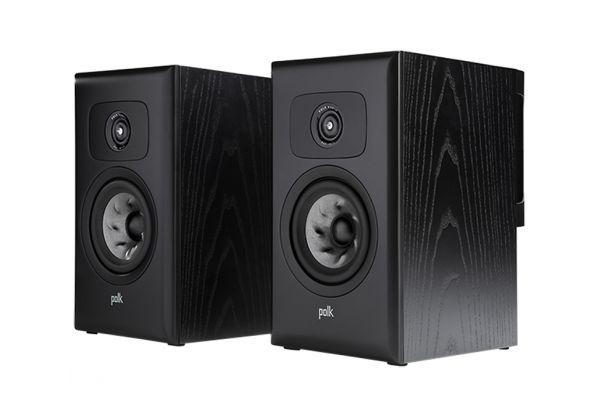 Large image of Polk Audio Legend Series L100 Premium Black Ash Bookshelf Speakers (Pair) - L100BK