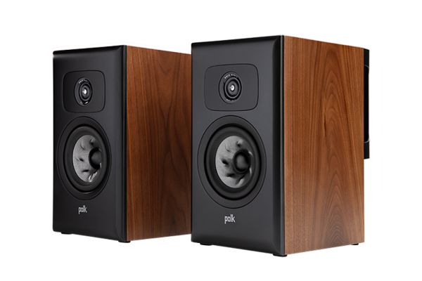 Large image of Polk Audio Legend Series L100 Premium Brown Walnut Bookshelf Speakers (Pair) - L100BR