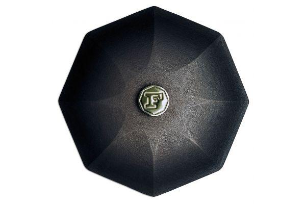 """Large image of Finex 12"""" Cast Iron Skillet Lid - L12-10001"""