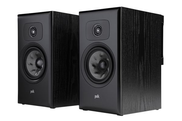 Large image of Polk Audio Legend Series L200 Premium Black Ash Bookshelf Speakers (Pair) - L200BK