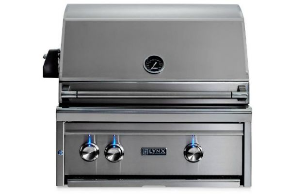 """Large image of Lynx Professional 27"""" Liquid Propane Built-In Grill - L27TR-LP"""