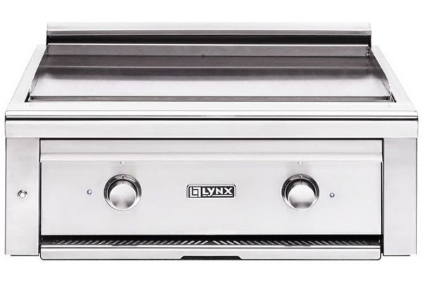 """Large image of Lynx Professsional 30"""" Stainless Steel Asado Natural Gas Built-In Grill Cooktop - L30AG-NG"""