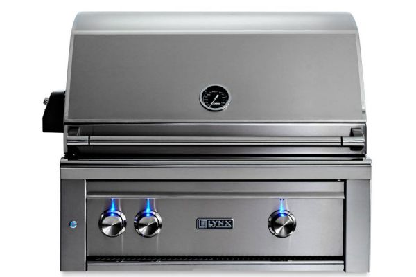 "Lynx Professional 30"" Liquid Propane  Built-In Grill With All Trident Infrared Burners And Rotisserie - L30ATR-LP"