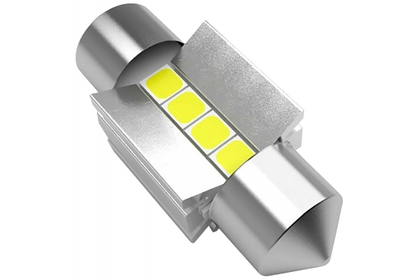 Large image of Lucas Lighting 31mm Festoon LED Bulbs - L-31MMW