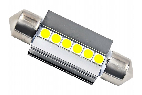 Large image of Lucas Lighting 36mm Festoon LED Bulbs - L-36MMW