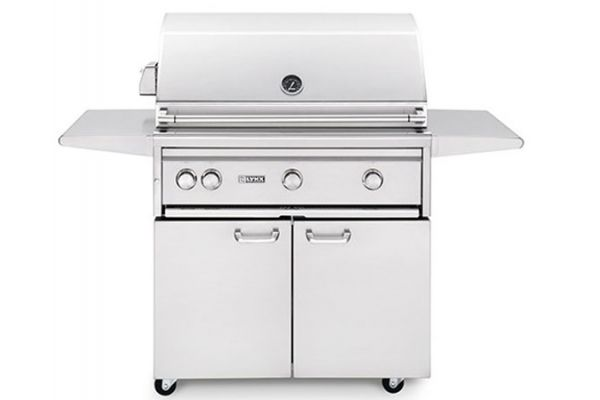 "Lynx Professional 36"" Stainless Steel Liquid Propane Grill With Trident Burner And Rotisserie - L36TRFLP"