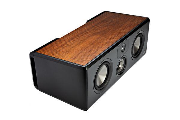 Large image of Polk Audio Legend Series L400 Home Theater Brown Walnut Center Channel Speaker (Each) - L400BR