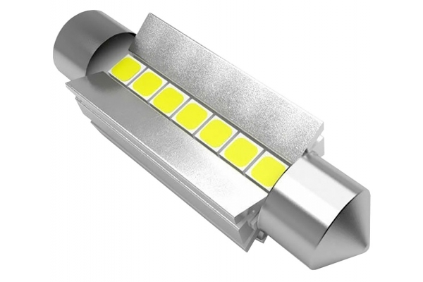 Large image of Lucas Lighting 41mm Festoon LED Bulbs - L-41MMW