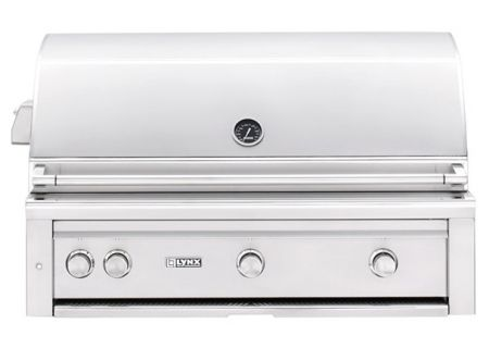 "Lynx Professional Built-In 42"" Stainless Steel Rotisserie Natural Gas Grill - L42TRNG"