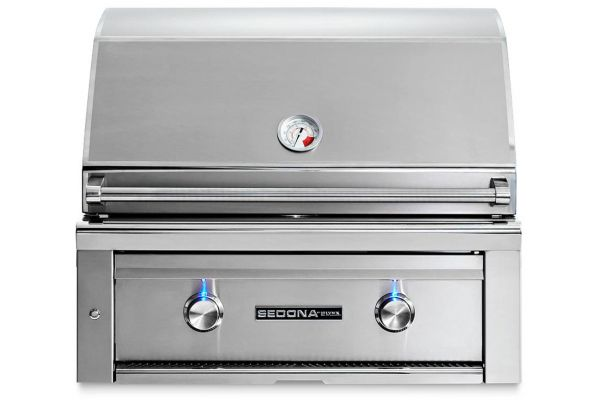 """Large image of Lynx Sedona Built-In 30"""" Stainless Steel ProSear Natural Gas Grill - L500PSNG"""