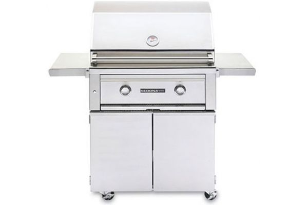 """Lynx Sedona 30"""" Stainless Steel Natural Gas Freestanding Grill - L500FNG"""