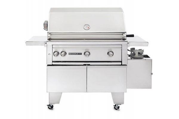 """Large image of Lynx 36"""" Stainless Steel Freestanding With Rotisserie Liquid Propane Gas Grill - L600ADA-LP"""