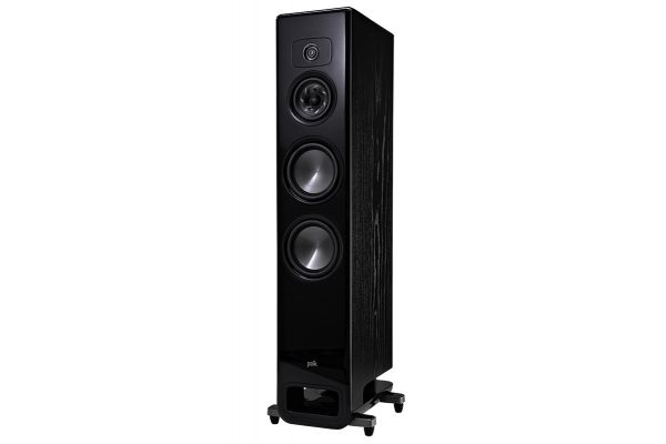 Polk Audio Legend Series L600 Premium Black Ash Floorstanding Tower Loudspeaker (Each) - L600BK