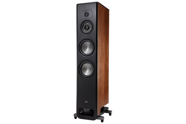 Large image of Polk Audio Legend Series L600 Premium Brown Walnut Floorstanding Tower Loudspeaker (Each) - L600BR