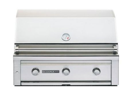 "Lynx Sedona Stainless Steel Built-In 36"" Liquid Propane Grill - L600LG"