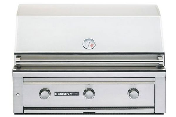 """Large image of Lynx Sedona 36"""" Stainless Steel Liquid Propane Built-In Grill With ProSear - L600PSLP"""