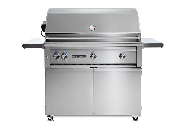 """Large image of Lynx Professional 42"""" Sedona Natural Gas Freestanding Grill - L700PSFR-NG"""