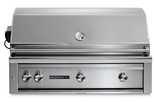 "Lynx Sedona 42"" Stainless Steel Natural Gas Built-In Grill With ProSear & Rotisserie - L700PSRNG"
