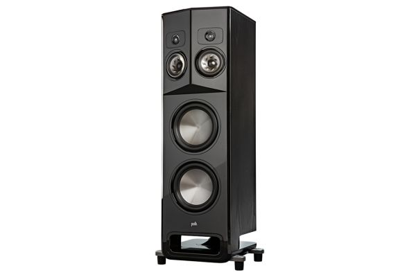 Large image of Polk Audio Legend Series L800 Black Ash Floorstanding Tower Speaker With Patented SDA-PRO Technology (Each) - L800LBK