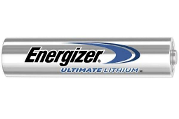Large image of Energizer Ultimate AAA Individual Lithium Battery - ENERGIZER-L92VP AAA