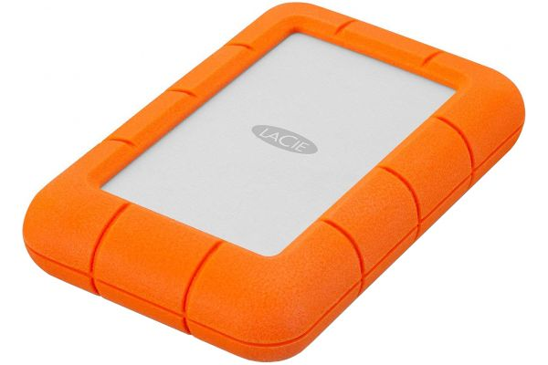 Large image of LaCie 4TB Rugged Mini Portable Drive - LAC9000633