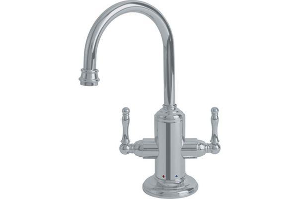 Large image of Franke Satin Nickel Hot & Cold Filtered Water Dispenser - LB12280