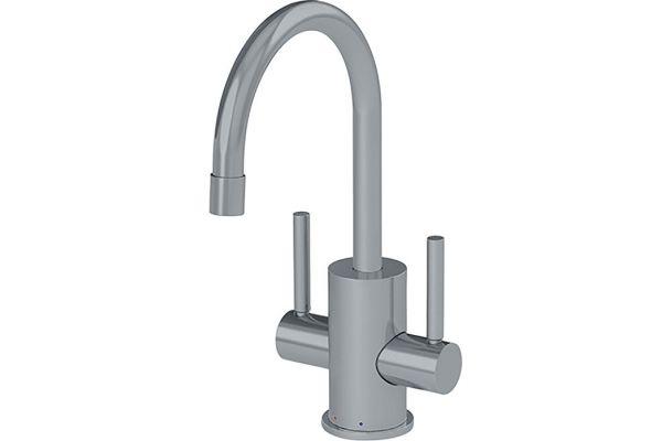 Large image of Franke Satin Nickel Hot & Filtered Cold Water Dispenser - LB16280