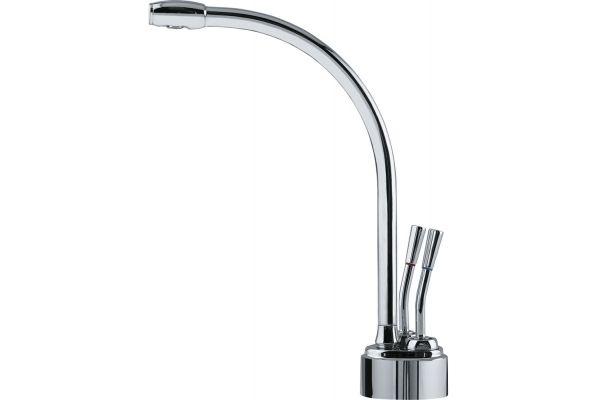 Large image of Franke Polished Chrome Hot & Filtered Cold Water Dispenser - LB9200C