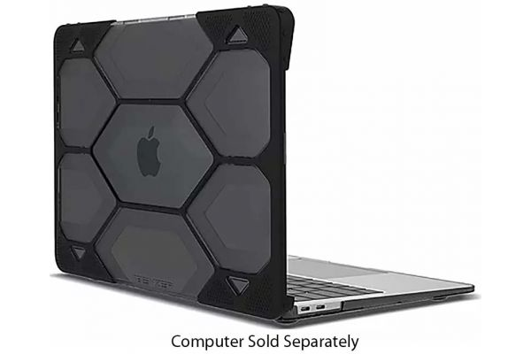 """Large image of iBenzer Hexpact MacBook Air 13"""" With Touch ID Black Case - LC-HPE-A13-TBK"""