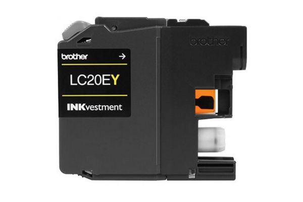 Large image of Brother XXL INKvestment Super High Yield Yellow Ink Cartridge - LC20EY