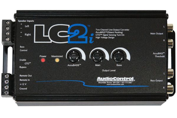 Audio Control LC2i 2-Channel Line Converter - LC2I