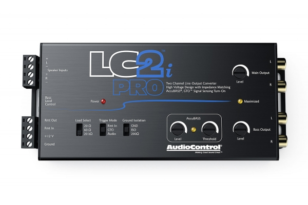 Large image of Audio Control LC2i Pro 2-Channel Line Out Converter with AccuBASS - LC2IPRO