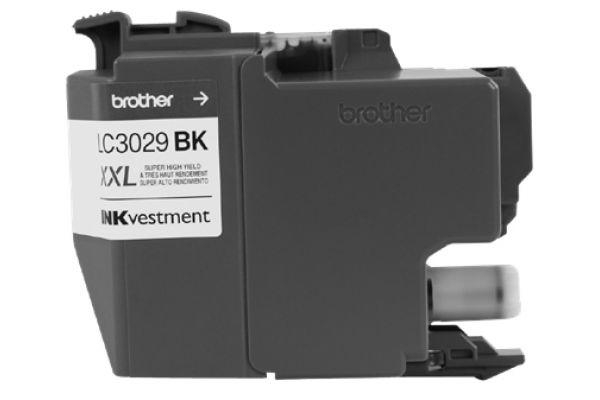 Large image of Brother INKvestment Super High-Yield Black Ink Toner Cartridge - LC3029BK