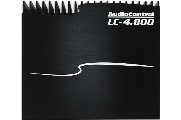 Large image of Audio Control Black 4-Channel Car Amplifier - LC-4.800